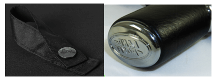 Laser Engrave on Button or handle decal