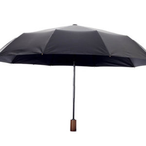 wooden handle automatic umbrella