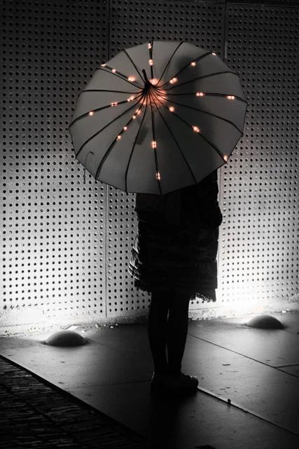 Fashion LED umbrella