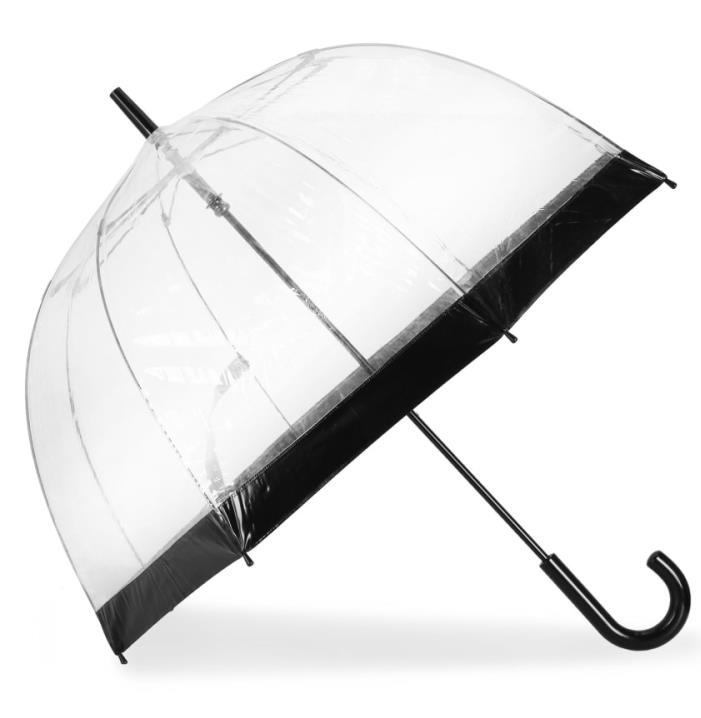 Bentley Leathers, Transparent Long Umbrella