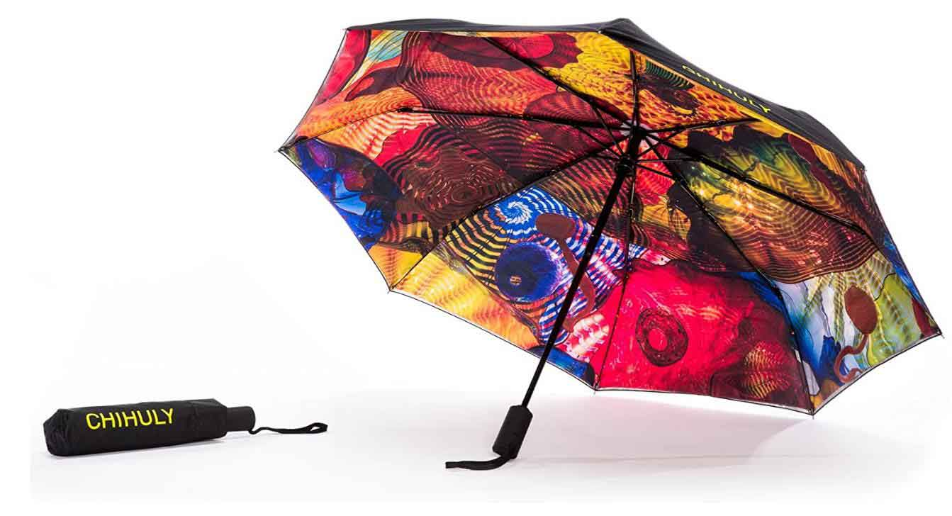 Chihuly Pergola Art Umbrella