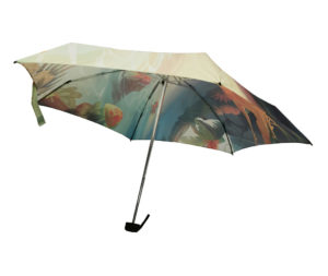 Artistic Beautiful Scenery Travel Umbrella