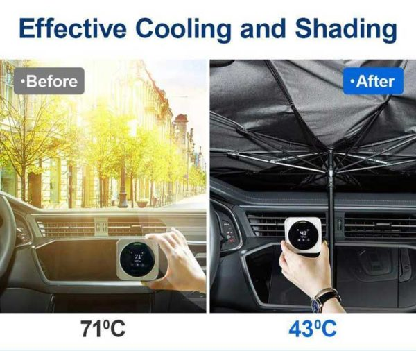 Car Umbrella for Front Windshield