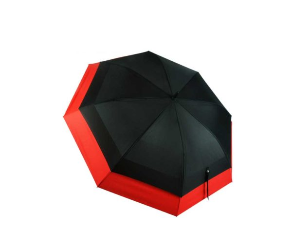 Golf umbrella with J handle