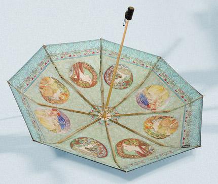 Vintage folding umbrella