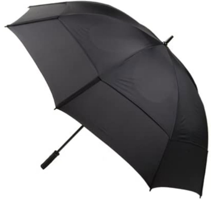 GustBuster Pro Series Gold 62-Inch Golf Umbrella