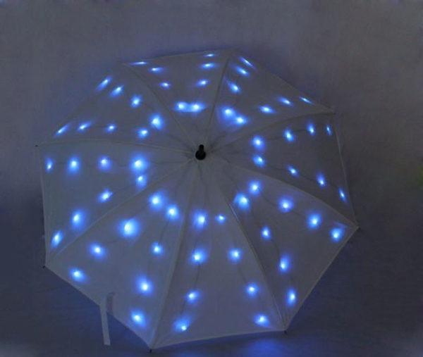customized led umbrella