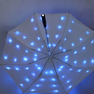 led twinking umbrella