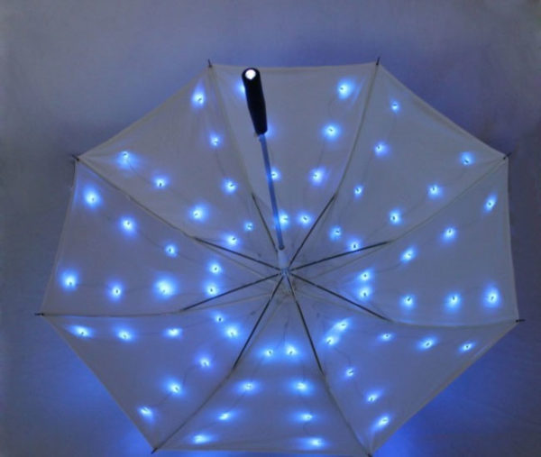 led twinking umbrella