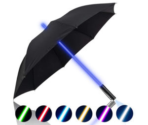 lightsaber led umbrellas