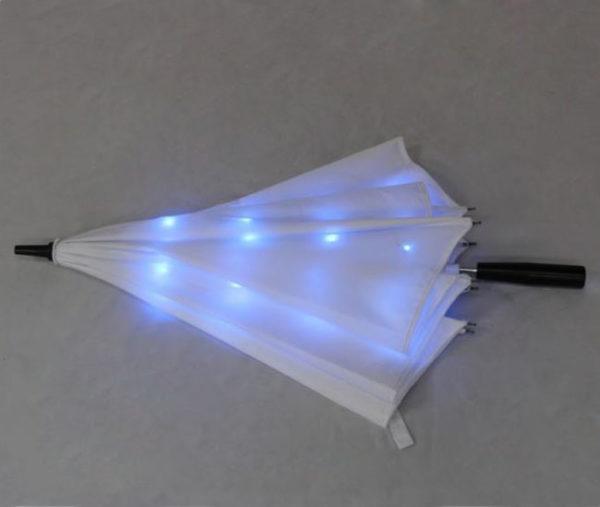 Outdoor straight led umbrella