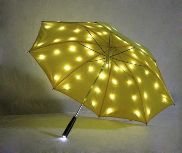 Personalized led umbrella