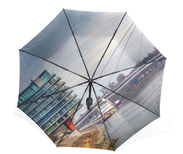 Beautiful scenery umbrella