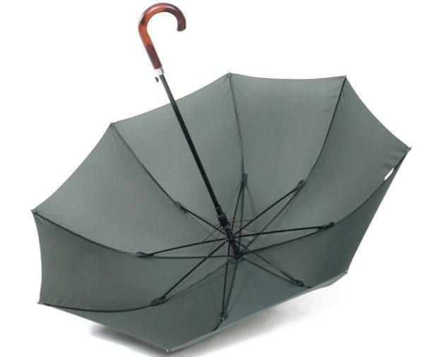 Wood golf umbrella