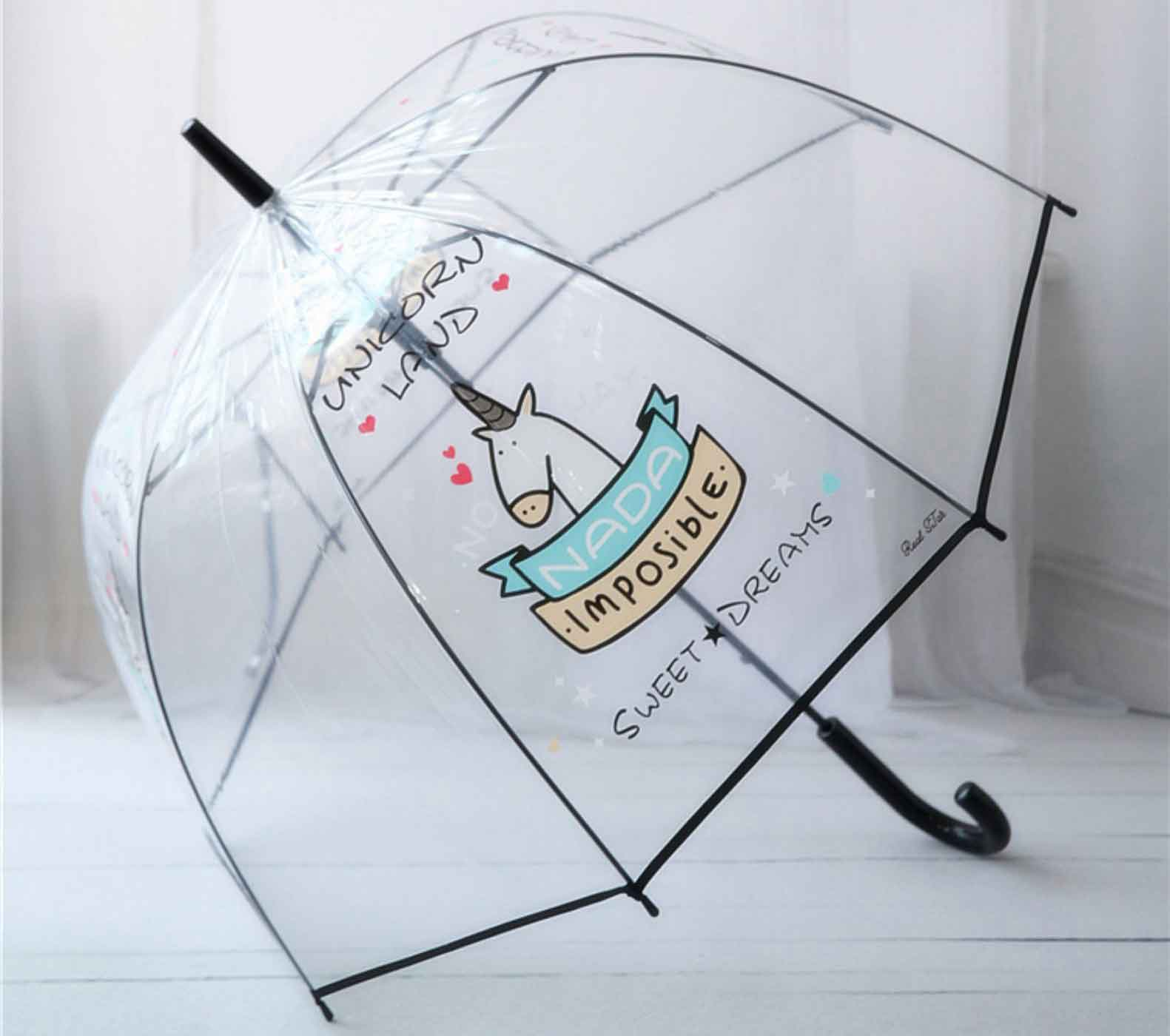 children's clear dome umbrellas