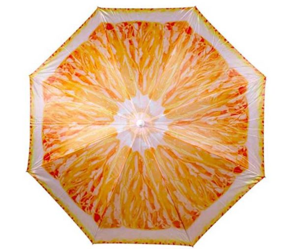 customized fruit beach umbrella