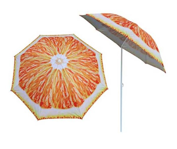 fruit beach umbrella