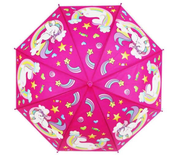 kid's unicorn umbrellas