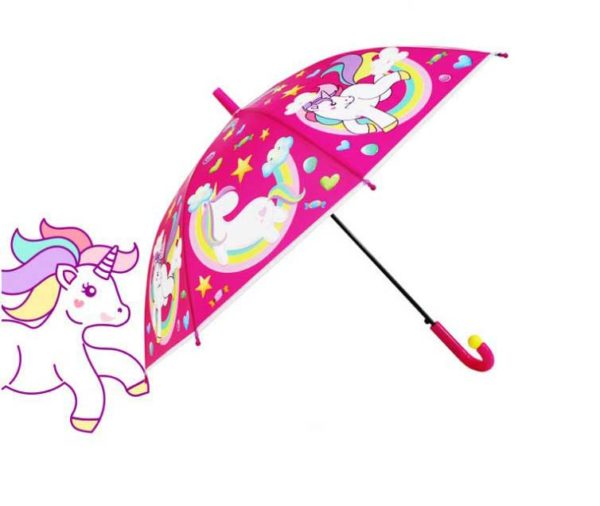 personalized children's unicorn umbrellas