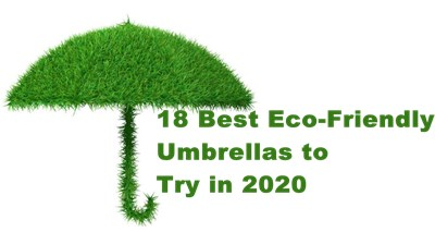 18 Best Eco-Friendly Umbrellas to Try in 2020