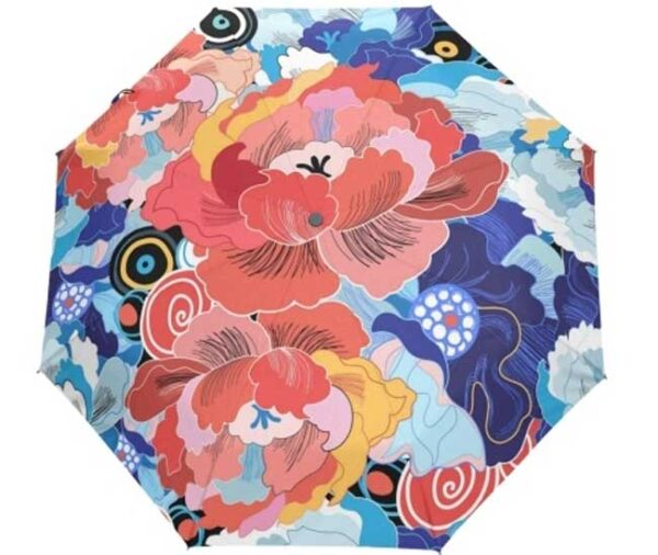Digital printing umbrella