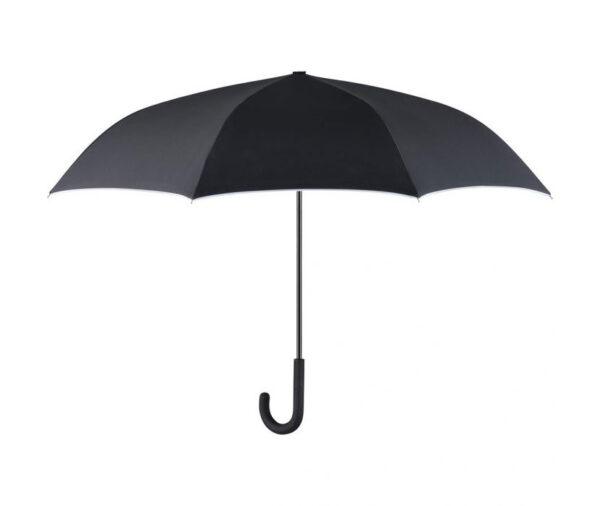 J-shaped handle umbrella