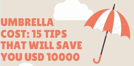umbrella cost