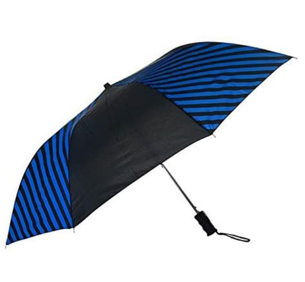 Custom Striped Expressions Auto Open Umbrella