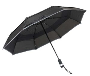 Led Umbrella With Reflective Stripe