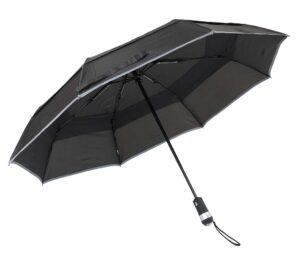 Led Umbrella With Reflective Stripe