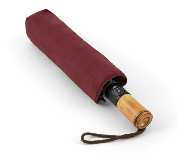 Eco-friendly vented folding umbrella