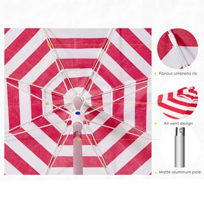 Air Vent Beach Umbrella