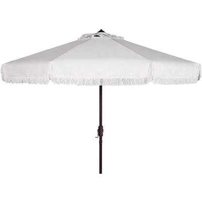 fringe beach umbrella canopy