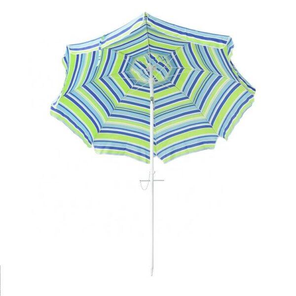custom print Beach Umbrella Sand Anchor with Tilt (2)