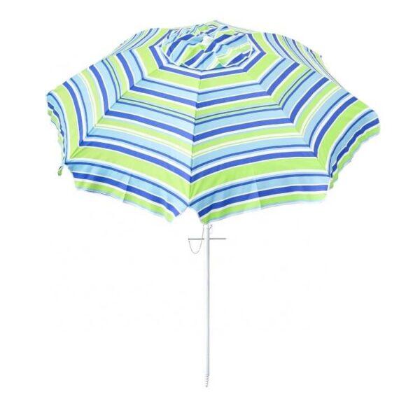 custom print Beach Umbrella Sand Anchor with Tilt (3)
