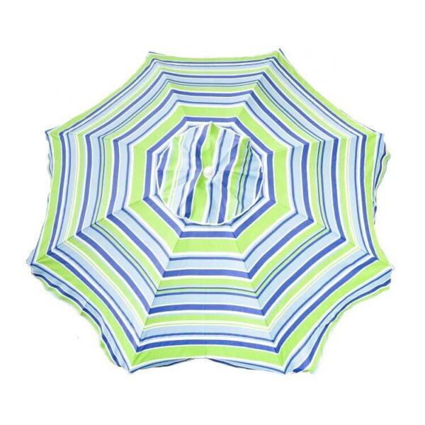 custom print Beach Umbrella beach umbrella canopy Sand Anchor with Tilt (3)