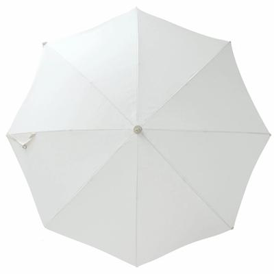 6.5ft White Beach Umbrella