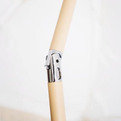 Antique White Beach Umbrella with adjustable tilt
