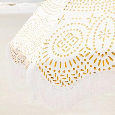 Boho Beach Umbrella Canopy