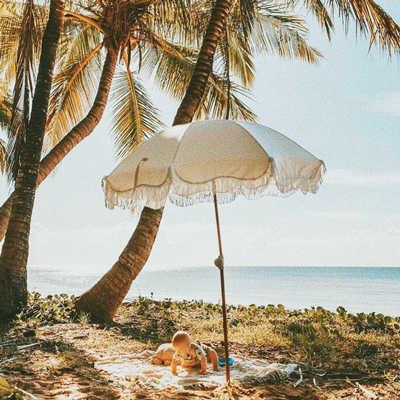 Hotsale White Beach Umbrella