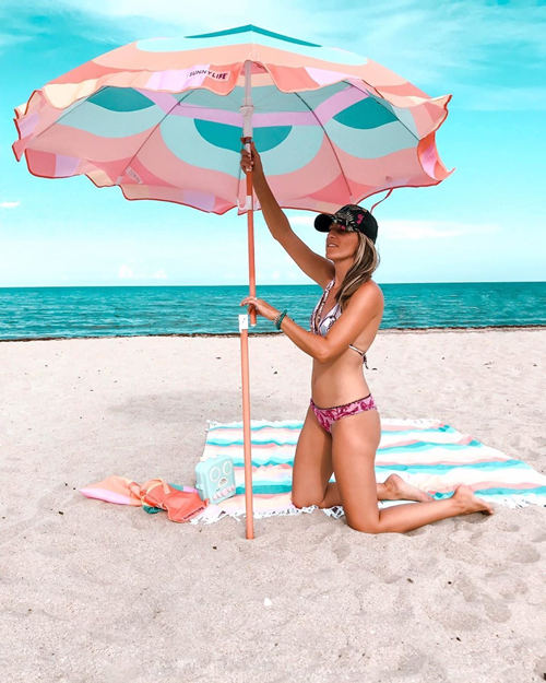 SunnyLife Islabomba Beach Umbrella