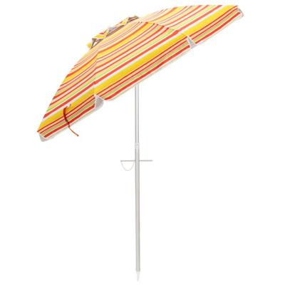 beach umbrella with pole