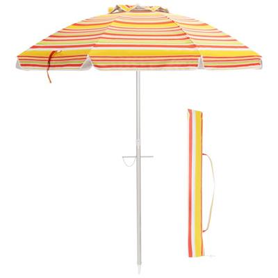 vented beach umbrella with carray bag