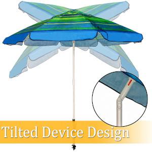 Ogrmar 7 FT Beach Umbrella