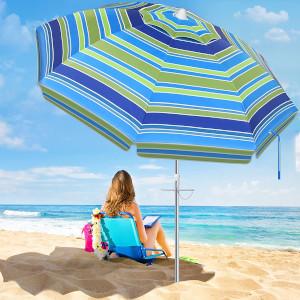 SANSUNTEK Beach Umbrella