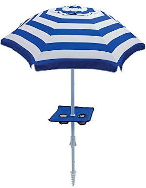 Tilt Beach Umbrella with Built-in Sand Anchor