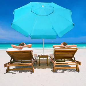 Abba Patio Beach Umbrella With Sand Anchor