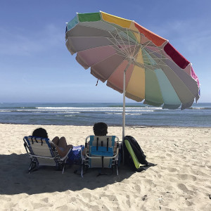 EasyGo Heavy Duty High Wind Beach Umbrella