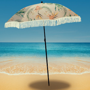 Flamingo Beach Umbrella