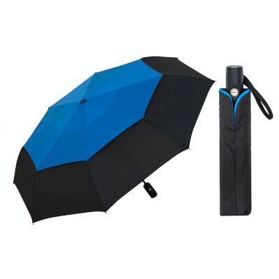 Double canopy Windproof Travel Umbrella